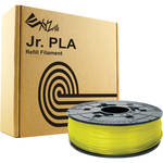 XYZprinting 1.75mm PLA Filament for the Jr. and Mini 3D Printer Series (600g, Clear Yellow)