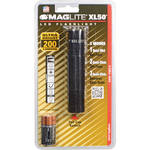 Maglite XL50 LED Flashlight (Black, Clamshell Packaging)