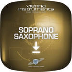 Vienna Symphonic Library Soprano Saxophone Upgrade to Full Library - Vienna Instrument (Download)