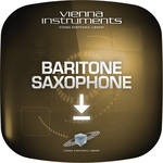 Vienna Symphonic Library Baritone Saxophone Upgrade to Full Library - Vienna Instrument (Download)