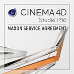 Maxon CINEMA 4D Studio 1-Year Service Agreement