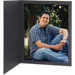 "Tap Senior Slip Photo Folder (8 x 10"", Ebony, 25-Pack)"
