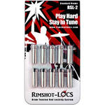 Rimshot-Locs RSL-2-STD Drum Tension Rod Lock for Most Deep Snares, Toms, & Bass Drums (10-Pack)