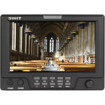 "SWIT S-1071CJ 7"" On-Camera Monitor with JVC BN-V428U Battery Mount"