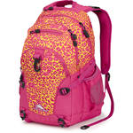 High Sierra Loop Backpack (Electric Leopard / Fuchsia)