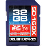 Delkin Devices 32GB SDHC Memory Card Pro Class 10