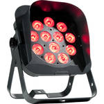 American DJ Flat Par QWH12XS - RGBW LED Wash Light with Snoot