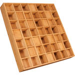 "Auralex Sustain Prisms - Bamboo Sound Diffusor for Wall or Ceiling Grids Mounting (3 x 23.75 x 23.75"", Pair)"
