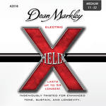 Dean Markley 2516 MED Helix Electric Guitar Strings (6-String Set, 11 - 52)