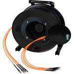 Camplex OM1 4-Ch Multimode Tactical Fiber ST Snake Cable Reel (328')