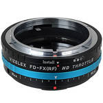 FotodioX Vizelex Pro ND Throttle Lens Mount Adapter for Canon FD-Mount Lens to Fujifilm X-Mount Camera