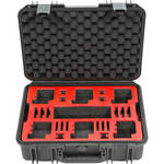 SKB iSeries 1711-6 Waterproof Dual Layer Case for 6 GoPro Cameras