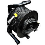 Tactical Fiber Systems Cable Reel with Magnum Connectors (2000', 2-Fiber, Single-Mode)