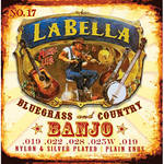 LABELLA Classical Banjo Nylon & Silver Plated Wound Strings