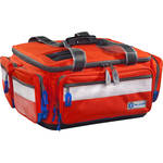 Plano Pediatric Medical Bag with 20 Pockets & Compartments (Orange)