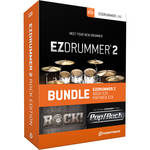 Toontrack EZdrummer 2 Rock Edition - Virtual Drum Module with Sound Libraries Bundle (Download)