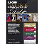 "Ilford GALERIE Prestige Smooth Silk Paper Discovery Pack (8.5 x 11"", 20 Sheets)"
