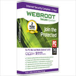 Webroot SecureAnywhere Internet Security Complete (Download, 5 Devices, 2 Years)