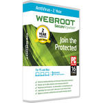 Webroot SecureAnywhere AntiVirus (Download, 3 Devices, 2 Years)