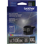 Brother LC10EBK INKvestment Super High Yield Black Ink Cartridge