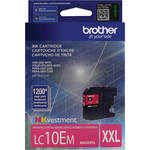Brother LC10EM INKvestment Super High Yield Magenta Ink Cartridge
