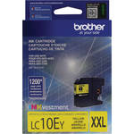 Brother LC10EY INKvestment Super High Yield Yellow Ink Cartridge