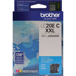 Brother LC20EC INKvestment Super High Yield Cyan Ink Cartridge