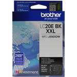 Brother LC20EBK INKvestment Super High Yield Black Ink Cartridge
