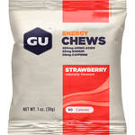 GU Energy Labs Energy Chews (24-Pack, Strawberry)