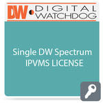 Digital Watchdog DW-SPCAASLSC001 Single DW Spectrum IPVMS License for CAAS Camera