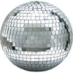 "Eliminator Lighting 12"" Mirror Ball with Motor Ring"
