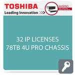 Toshiba NVSPRO Series 32-Channel 4U Rack Mount Server (78TB)