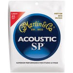 MARTIN Acoustic SP 80/20 Bronze Guitar Strings (12-54 Gauge)