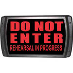 American Recorder OAS-2004-RD DO NOT ENTER Sign with LEDs (Red)