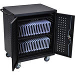 Luxor LLTM42-B 42 Tablet / Chromebook Charging Cart (Black)