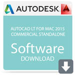 Autodesk AutoCAD LT for Mac 2015 Government Standalone (Download)