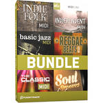 Toontrack Indie & Vintage MIDI 6 Pack - Drum MIDI Packs (Download)
