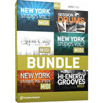 Toontrack Session Drummers MIDI 6 Pack - Drum MIDI Packs (Download)