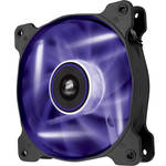 Corsair Air Series AF120 LED Purple Quiet Edition High Airflow 120 mm Fan (Twin Pack)