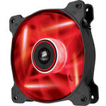 Corsair Air Series AF120 LED Red Quiet Edition High Airflow 120 mm Fan (Twin Pack)
