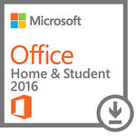Microsoft Office Home & Student 2016 for Windows (1-User License, Download)