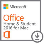 Microsoft Office Home & Student 2016 for Mac (1-User License, Download)