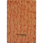 Tycoon Percussion Hand-Painted Siam Oak Front Plate Replacement for TKW-29 Cajon
