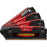 Corsair 32GB Vengeance Pro DDR3L 1600 MHz UDIMM Memory Kit (4 x 8GB, Red)