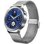 Huawei Watch 42mm Smartwatch (Stainless Steel, Stainless Steel Mesh Band)