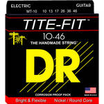 DR Strings Tite Fit - Electric Guitar Strings (Medium Gauge, 6-String Set)