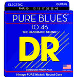 DR Strings Pure Blues Nickel Electric Guitar Strings (Medium, 10-46 Gauge)