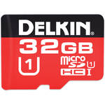 Delkin Devices 32GB 375X microSDHC Memory Card (Class 10)