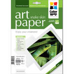 "ColorWay ART Glossy Snakeskin Textured Photo Paper (8.5 x 11"", 10 Sheets)"