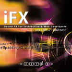 Zero-G iFX Matinée: Sound FX for Interactive & Web Developers - Sample Library (Electronic Download)